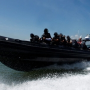 Ullman Biscaya Suspenion Seat on ASIS Boat Special Forces  Military-Anti-Piracy-Boats