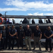 Ullman Biscaya Suspenion Seat on ASIS Boat Special Forces  Police-Force-RBPF