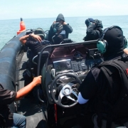 Ullman Biscaya Suspenion Seat on ASIS Boat Special Forces  RIBBoats9.5m