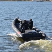 Dahl Naval 24 RHib boat grey