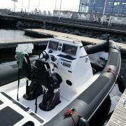 Dahl Naval 27 RHib boat