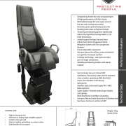 Echelon High Back Spec Sheet