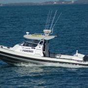 Fisheries Marine Patrol NAIAD 8.5