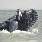 Madera RIB patrol