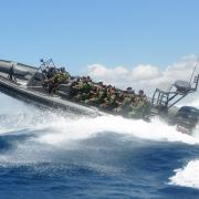 North Sea Boats Boarding Interceptor RIB special operations