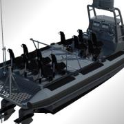 North Sea Boats  Boarding Interceptor RIB
