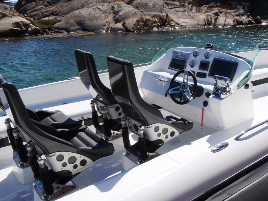 Daytona   Ullman Dynamics - World Leader in Suspension Seats