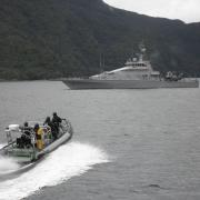 Royal New Zealand Navy rib