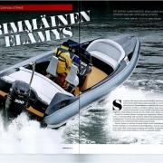 Scorpion Strike Finnish Magazine