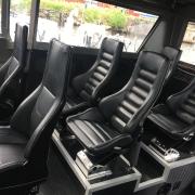 Stainless Steel Yachts - Echelon and Daytona Crew Seats