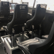 Stainless Steel Yachts - Echelon and Daytona Crew Seats