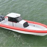 Yellowfin 40 Custom RHIB 01 Ullman Jockey seats
