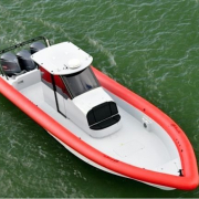 Yellowfin 40 Custom RHIB 02 Ullman Jockey seats