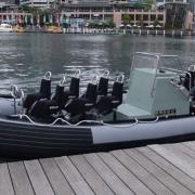 Royal Australian Navy Zodiac 7m