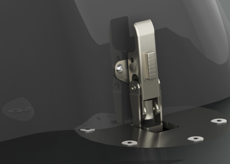 QR-Mount Eccentric Lock