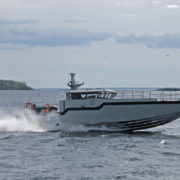 SSY P16 - Stainless Steel Boat at phase