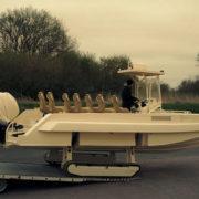 Iguana Pro - Amphibious Professional Boat